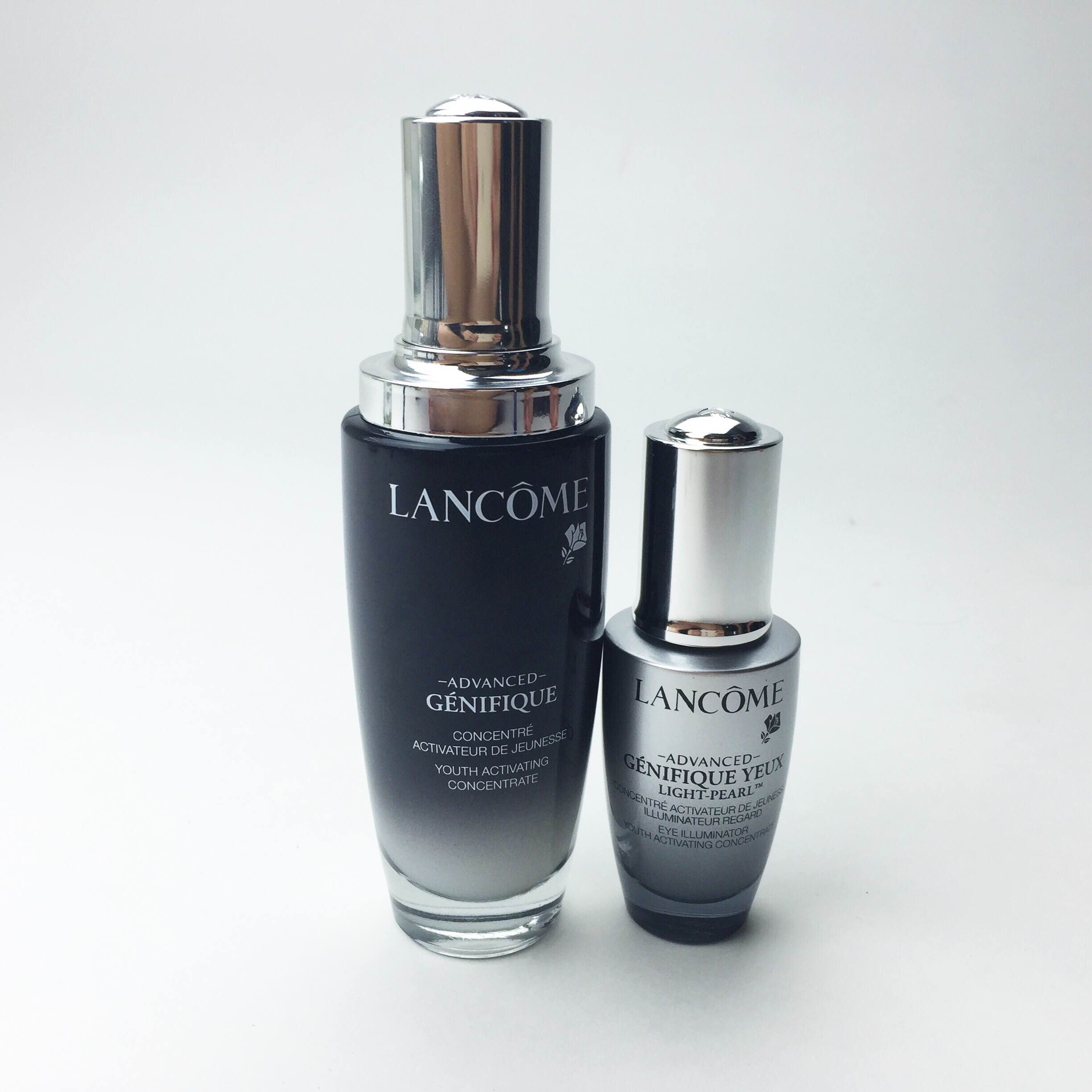 Lancôme Advanced Genifique & Renergie Trio Tutorial & Review