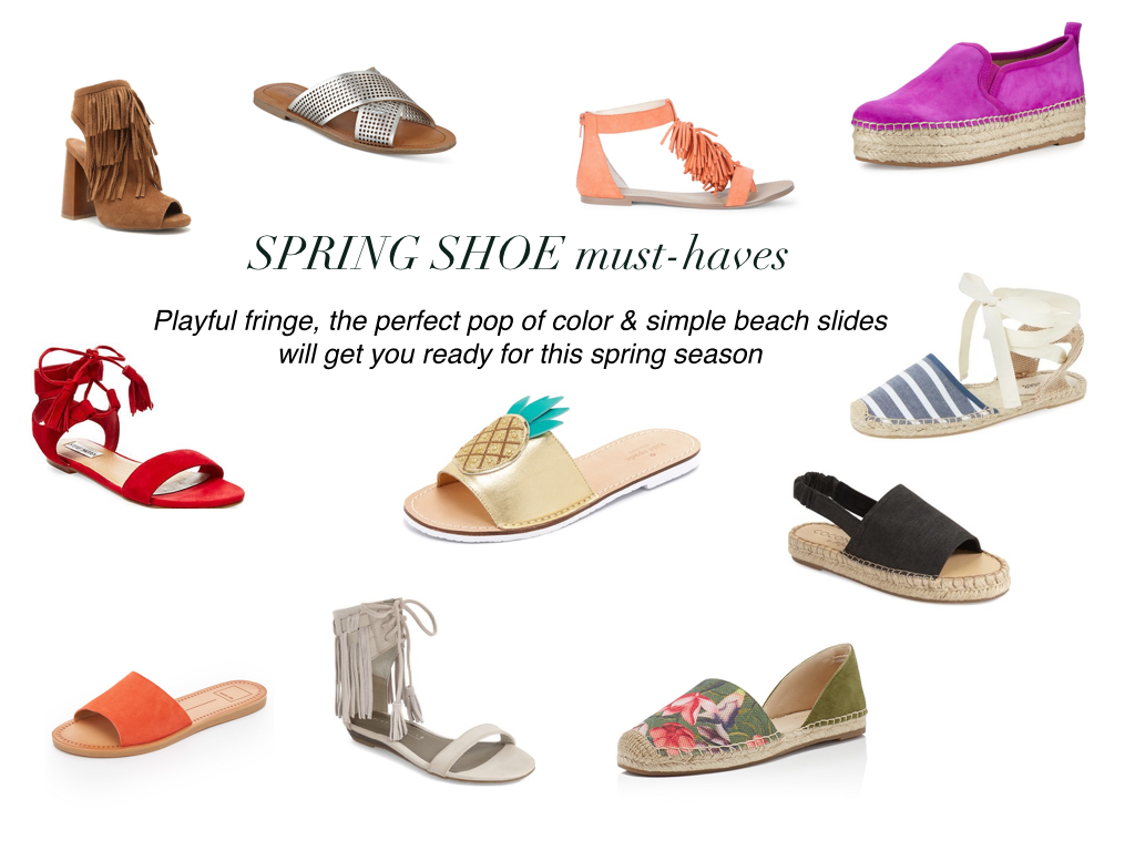 Spring Shoe Round-Up